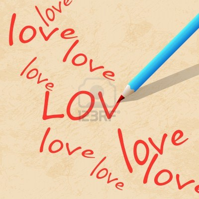 15885766-pencil-on-paper-write-the-word-love
