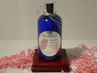 Body lotion tea rose