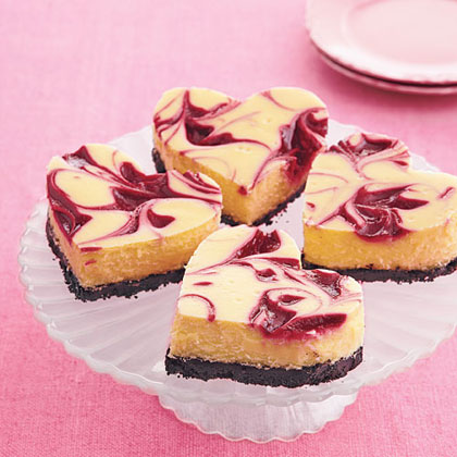 Heart Shaped Cheesecake
