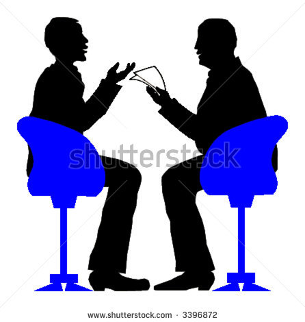 Stock-vector-exciting-job-interview-vector-illustration-3396872