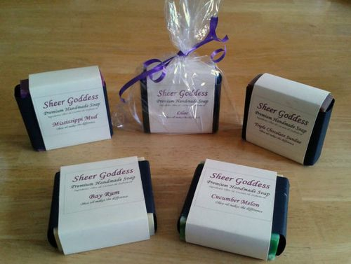Sheer Goddess Premium Handmade Soap