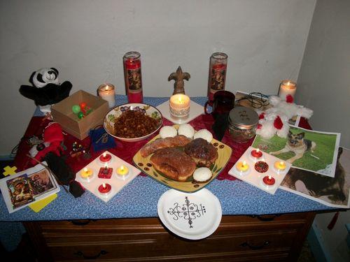Výsledek obrázku pro papa legba altar