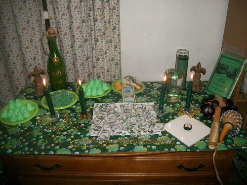 Sobo altar 2011