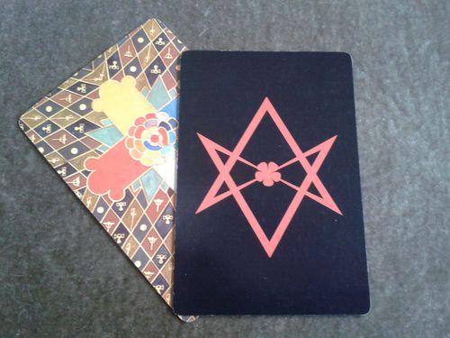 The Unicursal Hexagram Card